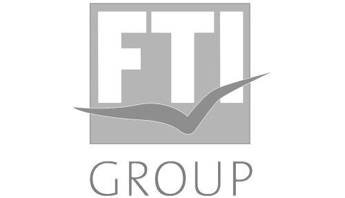 Logo for xTEN's Client  FTI Group