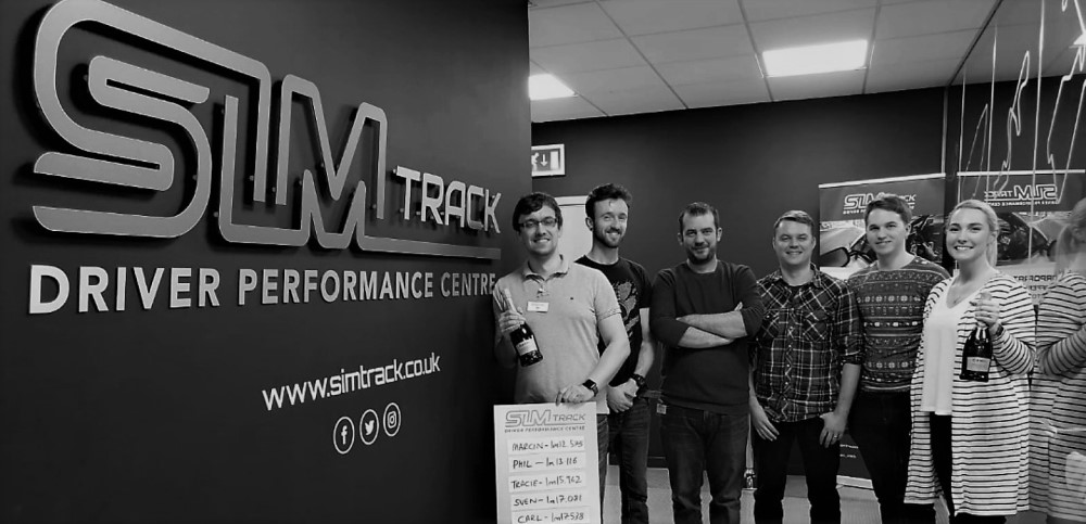 xTEN Team at SimTrack Driving Performance Centre in Leeds